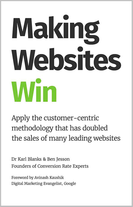 Making Websites Win book by Dr. Karl Blanks & Ben Jesson