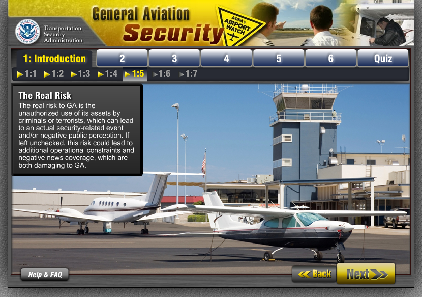 General Aviation Security - Course Intro