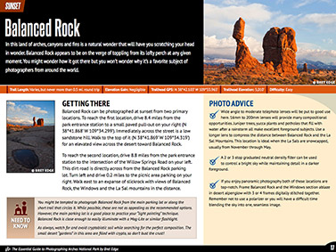 Arches National Park eBook - Location