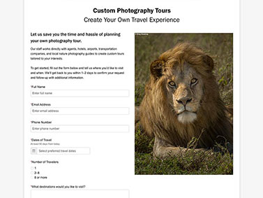 NatureScapes Workshops and Tours - Custom Photography Tours