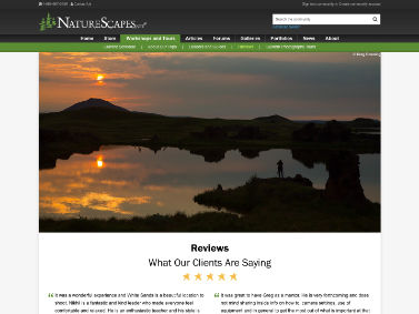 NatureScapes Workshops and Tours - Reviews