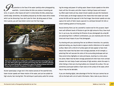 Waterfalls eBook - Content